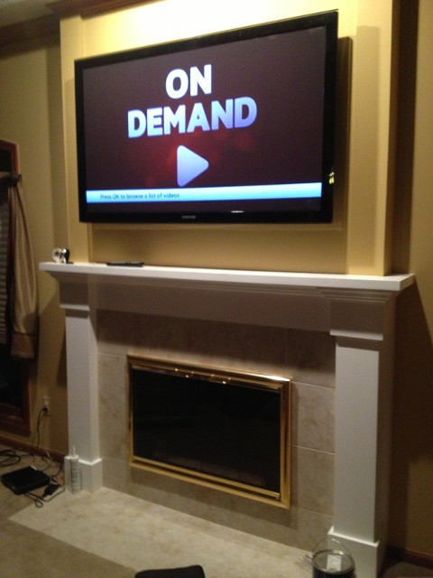 Fireplace Surrounds Mantles Remodel Remodeling Michigan